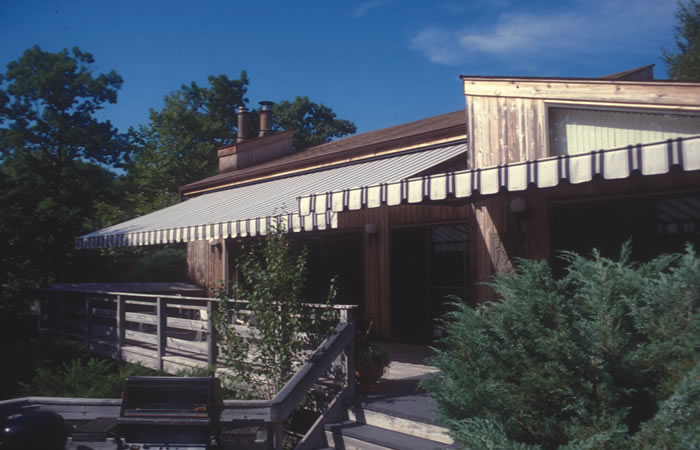 Awnings Photo Gallery. Residential Application. Retractable Residential  Awning
