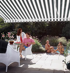 SunScape Retractable Fabric Awnings by Easter Awning